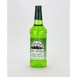 FEE BROTHERS SOUR APPLE CORDIAL SYRUP 1 QUART (EACH)