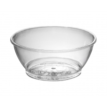 BOWL, PLASTIC, 6 OZ, CLEAR,  S