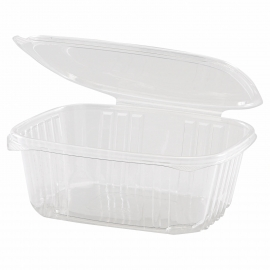GENPAK PLASTIC 32 OZ, HINGED LID, DELI CONTAINER, SECURE SEAL,  AD32 (200)