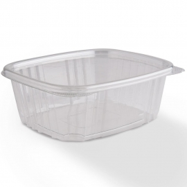 GENPAK PLASTIC 64 OZ, HINGED LID, DELI CONTAINER, SECURE SEAL,  AD64 (200)
