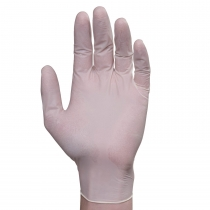 GLOVE, LATEX, SMALL, POWDERED,