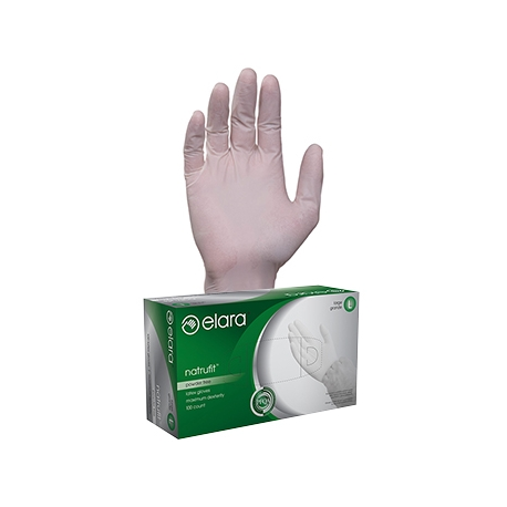 GLOVE, LATEX, *POWD-FREE*  X-L