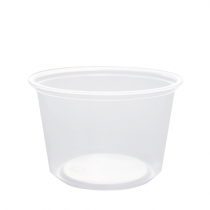 CONTAINER, DELI, 16 OZ, CLEAR