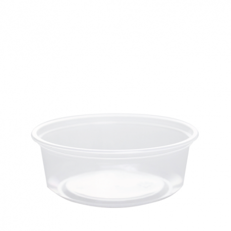 CONTAINER, DELI, 8 OZ, CLEAR P