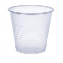 CUP, PLASTIC, TRANS, 3.5 OZ, Y