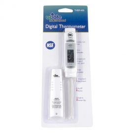 DIGITAL PEN THERMOMETER WITH SLEEVE, NSF APPROVED, BATTERY INCLUDED (EACH)