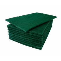 SCOURING PAD, GREEN, MEDIUM DU