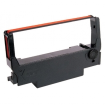 RIBBONS, BLK/RED, FITS EPSON E
