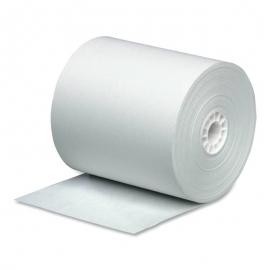 "REGISTER ROLLS, 3"" X 165', 1-PLY, WHITE BOND PAPER - 50 ROLLS PER CASE"