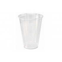 CUP, PLASTIC, CLEAR, 10 OZ, TP