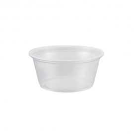 3.25 OZ PORTION CUP, CLEAR (2,500)