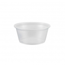 CUP, PORTION, 3.25 OZ, TRANSLU