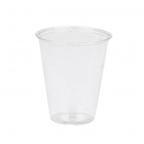 CUP, PLASTIC, CLEAR, 7 OZ, 7C