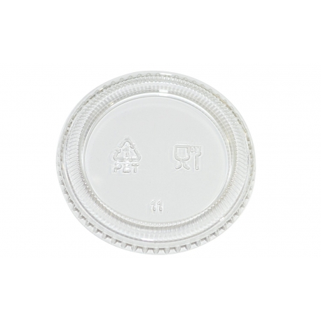 LID, CLEAR, FOR 1 OZ PORTION C