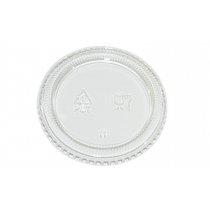 LID, CLEAR, FOR 2 OZ PORTION C