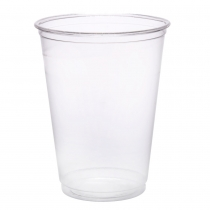 CUP, PLASTIC, CLEAR, 9 OZ TALL