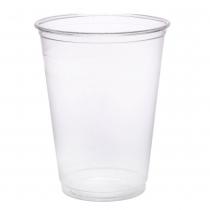 CUP, PLASTIC, CLEAR, 9 OZ TALL