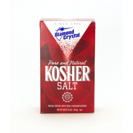 DIAMOND CRYSTALS KOSHER / MARGARITA SALT, 3 LB BOX - SOLD INDIVIDUALLY