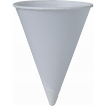 CUP, PAPER, CONE WATER CUP, 4.