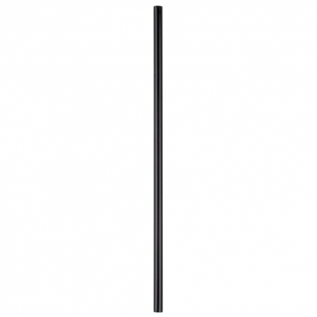 STRAW, SIP/STIRRER, 6 BLACK *