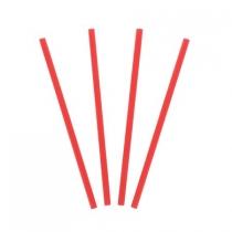 STRAW, 7-3/4 RED, JUMBO, DSJU