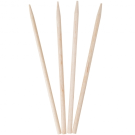 "4.5"" WOODEN SKEWER, ROUND (1,000/BOX)"