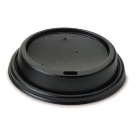 SOLO BLACK DOME SIP LID FOR 8 OZ PAPER CUPS (1000)