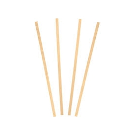 "5.5"" WOODEN COFFEE STIRRER, FLAT BAMBOO (1,000/BOX)"