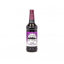 GRAPE, QUART, CORDIAL SYRUP (E