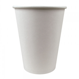 SOLO 12 OZ, WHITE PAPER HOT CUP, 412WN-2050 (1000)