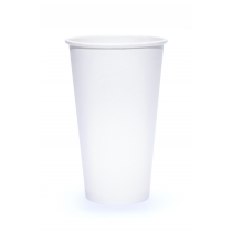 CUP, PAPER, 20 OZ, WHITE, HOT