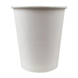 SOLO 8 OZ WHITE PAPER HOT CUP (1000)