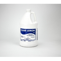 CLEANER, CLEAR LEMON DISINFECT