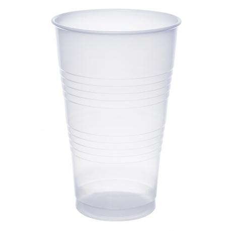 CUP, PLASTIC, TRANS, 16 OZ, TA