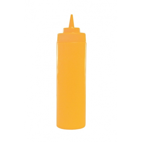SQUEEZE BOTTLE, 12 OZ YELLOW,