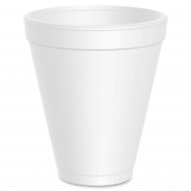 CUP, FOAM, 12 OZ, 12J16, SMALL