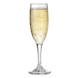 G.E.T. 6 OZ CLEAR PLASTIC CHAMPAGNE FLUTE, SW1401-CL (24)