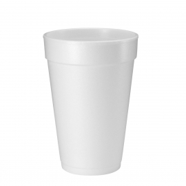 DART 16J16, 16 OZ WHITE FOAM CUP (1000) USE ANY 16 SERIES LID