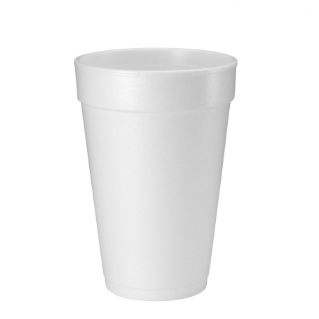 CUP, FOAM, 16 OZ, 16J16, LARGE