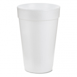 DART 20J16, 20 OZ WHITE FOAM CUP, TALL (500) USE ANY 16 SERIES LID