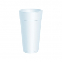 CUP, FOAM, 24 OZ, 24J16, TALL