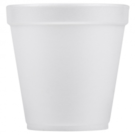 DART 32TJ32, 32 OZ WHITE FOAM CUP,  (500)  USE ANY 32 SERIES LID
