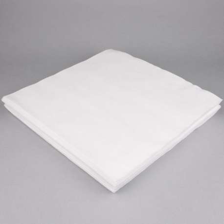 "TASK DINNER NAPKIN, LINEN REPLACEMENT, 15.5"" SQUARE, WHITE - 1000 PER CASE"