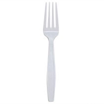 KARAT EARTH BIO-BASED FORK, BULK, NATURAL - SOLD PER CASE OF 1,000