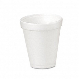 DART 4J4, 4 OZ WHITE FOAM CUP (1000) USE ANY 4 SERIES LID