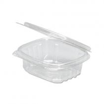 GENPAK PLASTIC 4 OZ, HINGED LID, DELI CONTAINER, SECURE SEAL, AD04 (200)