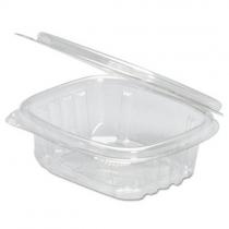 GENPAK PLASTIC 6 OZ, HINGED LID, DELI CONTAINER, SECURE SEAL,  AD06 (200)