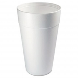 DART 44TJ32, 44 OZ WHITE FOAM CUP, TALL (500) USE ANY 32 SERIES LID