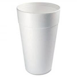 DART 44TJ32, 44 OZ WHITE FOAM CUP, TALL (500) USE ANY 32 SERIES LID
