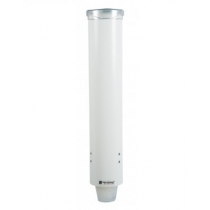 SAN JAMAR WATER CUP DISPENSER, PULL-TYPE, SMALL, PLASTIC - SOLD INDIVIDUALL